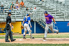 Cortland Crush Garrett Callghan (15) scores a run against the Niagara Power in New York Collegiate Baseball League playoff action at Sal Maglie Stadium in Niagara Falls, New York on Sunday, July 28, 2019. Niagara won 12-6.