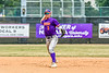 Cortland Crush Anthony Cieszko (3) throwing the ball to First Base for an out against the Niagara Power in New York Collegiate Baseball League playoff action at Sal Maglie Stadium in Niagara Falls, New York on Sunday, July 28, 2019. Niagara won 12-6.
