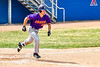 Cortland Crush Stephen Bennett (30) running the bases against the Niagara Power in New York Collegiate Baseball League playoff action at Sal Maglie Stadium in Niagara Falls, New York on Sunday, July 28, 2019. Niagara won 12-6.