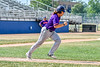 Cortland Crush Alex Babcock (33) running to First Base against the Niagara Power in New York Collegiate Baseball League playoff action at Sal Maglie Stadium in Niagara Falls, New York on Sunday, July 28, 2019. Niagara won 12-6.