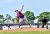 Cortland Crush Cregg Scherrer (7) pitching against the Niagara Power in New York Collegiate Baseball League playoff action at Sal Maglie Stadium in Niagara Falls, New York on Sunday, July 28, 2019. Niagara won 12-6.