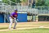Cortland Crush Kam Holland (43) at Third Base against the Niagara Power in New York Collegiate Baseball League playoff action at Sal Maglie Stadium in Niagara Falls, New York on Sunday, July 28, 2019. Niagara won 12-6.