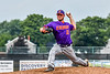 Cortland Crush Ridge Walker (21) pitching against the Niagara Power in New York Collegiate Baseball League playoff action at Sal Maglie Stadium in Niagara Falls, New York on Sunday, July 28, 2019. Niagara won 12-6.