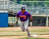 Cortland Crush Kam Holland (43) running the bases against the Niagara Power in New York Collegiate Baseball League playoff action at Sal Maglie Stadium in Niagara Falls, New York on Sunday, July 28, 2019. Niagara won 12-6.