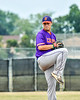 Cortland Crush Michael Viveiros (29) pitching against the Niagara Power in New York Collegiate Baseball League playoff action at Sal Maglie Stadium in Niagara Falls, New York on Sunday, July 28, 2019. Niagara won 12-6.