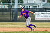 Cortland Crush Nicholas Pastore (1) running the bases against the Niagara Power in New York Collegiate Baseball League playoff action at Sal Maglie Stadium in Niagara Falls, New York on Sunday, July 28, 2019. Niagara won 12-6.