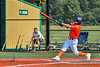 Cortland Crush Wyatt Palmer (31) hits the ball against the Albany Athletics in New York Collegiate Baseball League action at Gutchess Lumber Sports Complex in Cortland, New York on Sunday, June 6, 2021.
