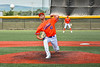 Cortland Crush Dominic Perachi (40) pitching against the Albany Athletics in New York Collegiate Baseball League action at Gutchess Lumber Sports Complex in Cortland, New York on Sunday, June 6, 2021.