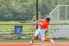 Cortland Crush Nicholas Pastore (1) hits the ball against the Albany Athletics in New York Collegiate Baseball League action at Gutchess Lumber Sports Complex in Cortland, New York on Sunday, June 6, 2021.