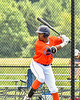 Cortland Crush Alexis Castillo (26) at bat against the Albany Athletics in New York Collegiate Baseball League action at Gutchess Lumber Sports Complex in Cortland, New York on Sunday, June 6, 2021.