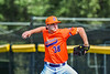 Cortland Crush Kevin Rosengren (38) pitching against the Albany Athletics in New York Collegiate Baseball League action at Gutchess Lumber Sports Complex in Cortland, New York on Sunday, June 6, 2021.