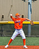 Cortland Crush Colt Harris (4) throwing the ball against the Albany Athletics in New York Collegiate Baseball League action at Gutchess Lumber Sports Complex in Cortland, New York on Sunday, June 6, 2021.
