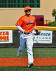 Cortland Crush Zachary Garcia (2) jogging in from the outfield in New York Collegiate Baseball League action at Gutchess Lumber Sports Complex in Cortland, New York on Sunday, June 6, 2021.