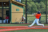 Cortland Crush Tyler Beard (21) hits the ball against the Albany Athletics in New York Collegiate Baseball League action at Gutchess Lumber Sports Complex in Cortland, New York on Sunday, June 6, 2021.