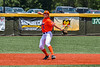 Cortland Crush Zach Marriott (5) warming up before playing the Albany Athletics in a New York Collegiate Baseball League game at Gutchess Lumber Sports Complex in Cortland, New York on Sunday, June 6, 2021.