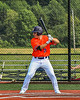 Cortland Crush Tyler Beard (21) at bat against the Albany Athletics in New York Collegiate Baseball League action at Gutchess Lumber Sports Complex in Cortland, New York on Sunday, June 6, 2021.