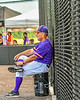 Cortland Crush Manager Bill McConnell watching his team against the Sherrill Silversmiths during a New York Collegiate Baseball League game at Gutchess Lumber Sports Complex in Cortland, New York on Monday, June 7, 2021. Cortland won 10-2.