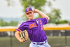 """Cortland Crush Brandon """"Buzz"""" Shirley (18) pitching against the Sherrill Silversmiths in New York Collegiate Baseball League action at Gutchess Lumber Sports Complex in Cortland, New York on Monday, June 7, 2021. Cortland won 10-2."""