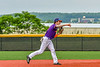 Cortland Crush Michael Breen (6) throwing the ball against the Sherrill Silversmiths in New York Collegiate Baseball League action at Gutchess Lumber Sports Complex in Cortland, New York on Monday, June 7, 2021. Cortland won 10-2.