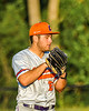 Cortland Crush Lucas Hartman (23) on the mound against the Syracuse Spartans in New York Collegiate Baseball League action at OCC Turf Field in Syracuse, New York on Wednesday, June 9, 2021. Spartans won 7-5.