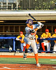 Cortland Crush Alexis Castillo (26) at bat against the Syracuse Spartans in New York Collegiate Baseball League action at OCC Turf Field in Syracuse, New York on Wednesday, June 9, 2021. Spartans won 7-5.
