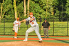 Cortland Crush Lucas Hartman (23) pitching against the Syracuse Spartans in New York Collegiate Baseball League action at OCC Turf Field in Syracuse, New York on Wednesday, June 9, 2021. Spartans won 7-5.