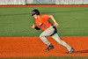 Cortland Crush Matthew Ward (20) running the bases against the Syracuse Salt Cats in New York Collegiate Baseball League action at OCC Turf Field in Syracuse, New York on Monday, June 14, 2021. Game ended in a 2-2 tie.