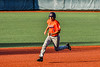 Cortland Crush Michael Breen (6) running to Third Base against the Syracuse Salt Cats in New York Collegiate Baseball League action at OCC Turf Field in Syracuse, New York on Monday, June 14, 2021. Game ended in a 2-2 tie.