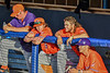 Cortland Crush Griffin Snyder (29) watching from the dugout against the Syracuse Salt Cats in New York Collegiate Baseball League action at OCC Turf Field in Syracuse, New York on Monday, June 14, 2021. Game ended in a 2-2 tie.