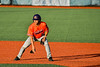 Cortland Crush Michael Breen (6) taking a lead at First Base against the Syracuse Salt Cats in New York Collegiate Baseball League action at OCC Turf Field in Syracuse, New York on Monday, June 14, 2021. Game ended in a 2-2 tie.