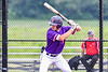 Cortland Crush Nicholas Pastore (1) at bat against the Sherrill Silversmiths in New York Collegiate Baseball League action at Gutchess Lumber Sports Complex in Cortland, New York on Friday, June 18, 2021. Cortland won 15-5.