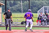 Cortland Crush Lawrence Hamilton (34) scores a run against the Sherrill Silversmiths in New York Collegiate Baseball League action at Gutchess Lumber Sports Complex in Cortland, New York on Friday, June 18, 2021. Cortland won 15-5.