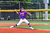 Cortland Crush David Keller (17) pitching against the Sherrill Silversmiths in New York Collegiate Baseball League action at Gutchess Lumber Sports Complex in Cortland, New York on Friday, June 18, 2021. Cortland won 15-5.