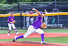 Cortland Crush Gabriel Garcia (43) pitching against the Sherrill Silversmiths in New York Collegiate Baseball League action at Gutchess Lumber Sports Complex in Cortland, New York on Friday, June 18, 2021. Cortland won 15-5.