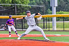 Sherrill Silversmiths Elijah Cohen (3) pitching against the Cortland Crush in New York Collegiate Baseball League action at Gutchess Lumber Sports Complex in Cortland, New York on Friday, June 18, 2021. Cortland won 15-5.