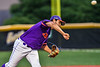 Cortland Crush Gabriel Garcia (43) pitchng against the Sherrill Silversmiths in New York Collegiate Baseball League action at Gutchess Lumber Sports Complex in Cortland, New York on Friday, June 18, 2021. Cortland won 15-5.