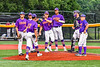 Cortland Crush David Keller (17) before being relieved against the Sherrill Silversmiths in New York Collegiate Baseball League action at Gutchess Lumber Sports Complex in Cortland, New York on Friday, June 18, 2021. Cortland won 15-5.