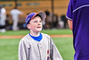 Cortland Crush Jackson Krueger (33) talking with a young boy before the New York Collegiate Baseball League game against the Sherrill Silversmiths at Gutchess Lumber Sports Complex in Cortland, New York on Friday, June 18, 2021.