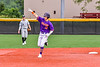 """Cortland Crush Brandon """"Buzz"""" Shirley (18) celebrating his Home Run against the Sherrill Silversmiths in New York Collegiate Baseball League action at Gutchess Lumber Sports Complex in Cortland, New York on Friday, June 18, 2021. Cortland won 15-5."""
