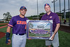Cortland Crush sponsor Cayuga Medical Center at Gutchess Lumber Sports Complex in Cortland, New York on Friday, June 18, 2021.