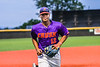 Cortland Crush Justice Welch (12) jogging in after an inning against the Sherrill Silversmiths in New York Collegiate Baseball League action at Gutchess Lumber Sports Complex in Cortland, New York on Friday, June 18, 2021. Cortland won 15-5.