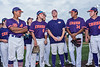 Cortland Crush players introducing themselves to sponsors at the at Gutchess Lumber Sports Complex in Cortland, New York on Friday, June 18, 2021.