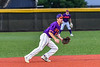 Cortland Crush Noah Barber (27) playing Short Stop against the Sherrill Silversmiths in New York Collegiate Baseball League action at Gutchess Lumber Sports Complex in Cortland, New York on Friday, June 18, 2021. Cortland won 15-5.