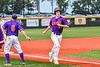 Cortland Crush Noah Barber (27) running the bases after hitting a Home Run against the Sherrill Silversmiths in New York Collegiate Baseball League action at Gutchess Lumber Sports Complex in Cortland, New York on Friday, June 18, 2021. Cortland won 15-5.