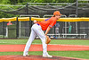 Cortland Crush Matthew Sorrells (30) on the mound against the Hornell Dodgers in New York Collegiate Baseball League action at Gutchess Lumber Sports Complex in Cortland, New York on Saturday, June 19, 2021. Hornell won 8-3