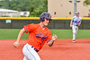 Cortland Crush Jason Boule (7) running the bases against the Hornell Dodgers in New York Collegiate Baseball League action at Gutchess Lumber Sports Complex in Cortland, New York on Saturday, June 19, 2021. Hornell won 8-3