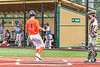 Cortland Crush Colt Harris (4) scores a run against the Hornell Dodgers in New York Collegiate Baseball League action at Gutchess Lumber Sports Complex in Cortland, New York on Saturday, June 19, 2021. Hornell won 8-3