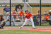 Cortland Crush Rob Ciulla (13) swings and misses a pitch against the Hornell Dodgers in New York Collegiate Baseball League action at Gutchess Lumber Sports Complex in Cortland, New York on Saturday, June 19, 2021. Hornell won 8-3