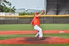 Cortland Crush Matthew Sorrells (30) pitching against the Hornell Dodgers in New York Collegiate Baseball League action at Gutchess Lumber Sports Complex in Cortland, New York on Saturday, June 19, 2021. Hornell won 8-3