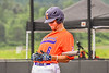 Cortland Crush Michael Breen (6) getting ready for his at bat against the Hornell Dodgers in New York Collegiate Baseball League action at Gutchess Lumber Sports Complex in Cortland, New York on Saturday, June 19, 2021. Hornell won 8-3